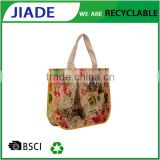 Colorfull printing bag promotion shopping/fabric bags wholesale/fashionable plastic woven tote bag                                                                         Quality Choice
