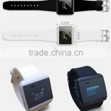 OEM bluetooth watch, Most Fashionable Lovers Watch/Wrist watch / Bluetooth Watch With Vibrate & Caller ID display
