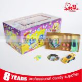 Cool Plastic Toy Racing Car With Candy Bubble Gum