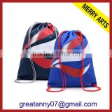 2015 new product hot design nylon drawstring bag cute drawstring backpack bag advertising with good quality