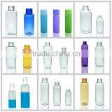 Empty Plastic foam pump bottle skin care cream bottle cosmetic lotion liquid pet plastic bottle