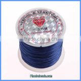Wholesale 0.5mm Navy Blue Crystal Elastic Rope For Bracelets Making CST-01D