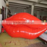 Eye-Catching Inflatable Lip Advertising Model led inflatable lighted lips