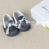 DB2387 dave bella 2015 spring infant pig skin shoes baby shoes baby leather shoes with bow baby shoes