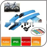 Waterproof Multicolor Fast Disassembly Type Bike Mudguard Bicycle Fender for Mountain Bike