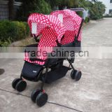 8 wheels baby trend double lightweight strollers
