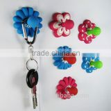 fashion promotional craft rubber pvc magnetic hook