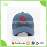 Fashion Shape R Logo Baseball Hats Kids Cap with Velcro