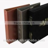 2016 high quality leather bag a5 leather portfolio a4 leather folder leather file folder