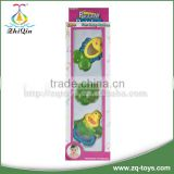 Plastic baby teether toy baby rattle plastic toy baby educational toy with en71 certificate