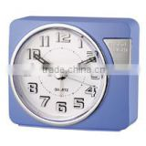 Home use LED light hand size alarm clock