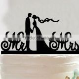 Romantic Wedding Bride and Groom Cake Topper Mr &Mrs Couple Figure Favors Gift