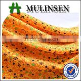 Mulinsen Textile Woven 100% Polyester Wool Peach nida fabric for abaya