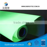 [Low Price Stock Product]Photoluminescent Transparent vinyl film for safety system/ Fire Evacuation Plan Map/ safety sign