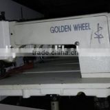 Golden Wheel Cs 530-2 Second Hand Used chain stitch embroidery machine