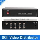 1CH In And 8CH Output Support HDCVI/HDTVI/AHD Camera BNC Output,Max Up To 300-600M 8CH BNC Video Splitter