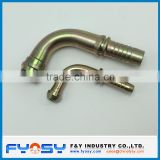 BSP/BSPT JIC/ORFS NPT Male carbon steel elbow 90 degree pipe fitting hydraulic hose fitting