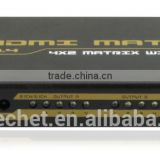 Top Selling Products in Alibaba 4K Switcher Matrix 4x2 with Stereo Toslink Coaxial Audio Output with Audio CH2.1/CH5.1
