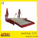 JUNHV JH-TP2700B double post car lift/double deck parking lift/double deck car parking system