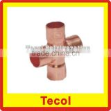 copper cross fittings