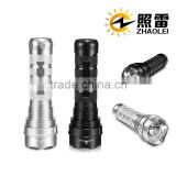 35W 24W Tactical Xenon HID Flashlight rechargeable 2200mah battery HID Xeon Torch Flashlight