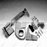 zinc plated sheet metal cutting and bending machine parts