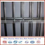 China manufacture galvanized then powder painting welded mesh fence/double wire fence/2D double wire fence