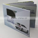 Factory custom 2.4 / 3.5 / 4.3/ 5/ 7/ 10 inch Lcd invitation video brochure greeting card for christmas gifts