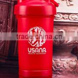 500 ml PP protein shaker bottle blender protein shaker water bottle