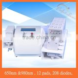 208 Diodes Fat Removal Lipo Laser Slimming 12 paddles lipolaser with 250mw