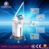 Pigmented Spot Removal Glass Tube Laser Emitter Ablative Co2 Remove Neoplasms Laser Equipment Face Resurfacing With Fractional Laser 10.6um Face Lifting