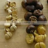 Dried peeled chestnut