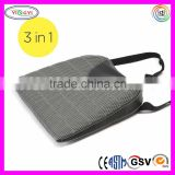 F056 Coccyx Support Car Seat Cushion with Strap Memory Foam Breathable Car Seat Cushion Cover