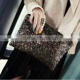 Factory Custom Fashion EU and The US Leopard Top Brand Clutch Bag | Sequins Clutch Bag | Coin Purse | Shopping Bag ( BXCP005 )
