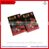 pure natural smokeless 1.5hour burning time tobacco al fakher charcoal
