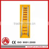 Aluminum fire escape extension ladder