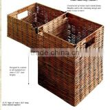 High Quality Decorative Wicker Storage Stair step Basket