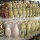 Chinese Onyx Natural Stone Vases