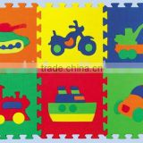 Non-toxic, Durable Baby EVA Foam Puzzle Mat - Animals, Numbers, Fruits, Vehicles, Geo shapes
