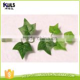 Green leaves of plastic Wholesale Christmas decorations simulation cane artificial Christmas tree parts