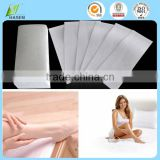 wholesale disposable depilatorywax strips/ waxing strip rolls /hair removal wax strips