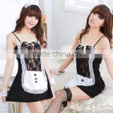 2014 the new Maid maid sexy lingerie sleepwear lace game 5 suit uniform temptation free shipping