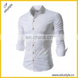 Shenzhen Clothes Factory 2017 Latest Shirts Pattern For Men