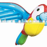 inflatable pvc parrot display