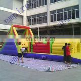 obstacle course, inflatables,outdoor inflatable games OT007