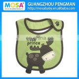 2015 New Lovely Reindeer Cotton Waterproof Baby Bibs for Boys
