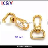 Shiny gold Fashion Custom Metal Dog Clip