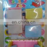 2013 Shaped novelty erasers