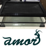 Reptile Glass enclosure with top ventilation cover