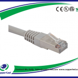 SSTP Cat.6A Patch cord Grey color